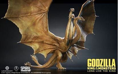 Picture of King Ghidorah Statue - Standard Edition