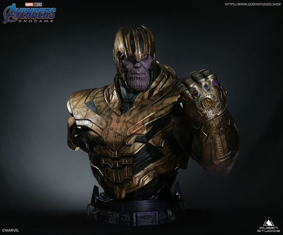 Picture of AVENGERS ENDGAME THANOS BUST