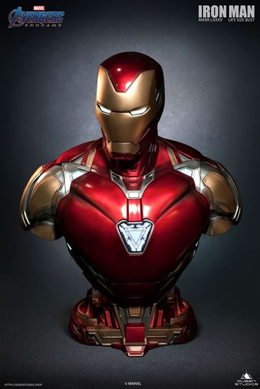 Picture of IRON MAN MARK 85 LIFE-SIZE BUST