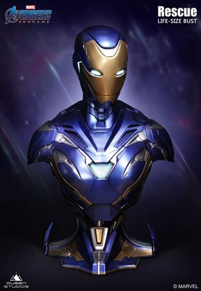 Picture of IRON MAN MARK 49 RESCUE LIFE-SIZE BUST