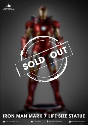 Picture of IRON MAN MARK 7 1/1 STATUE